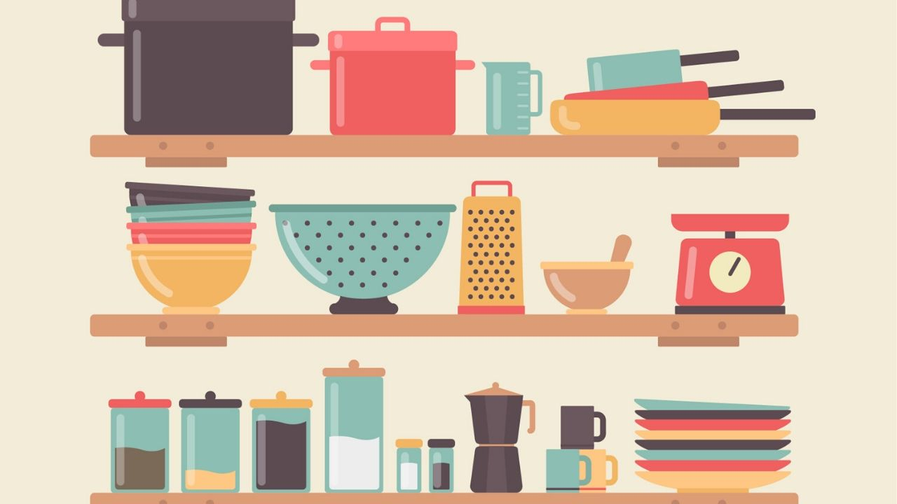 étagéres rangement sa cuisine